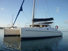 Fountaine Pajot Athena 38 : Martinique anchorage